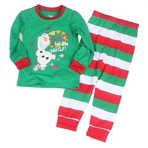 Santa Pajamas For Kids