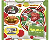 Hersheys Holiday Assortment (Reeses Miniatures, Hersheys Kisses & Hersheys Miniatures), 21-Ounce Bags (Pack of 2)