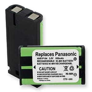 foto de Amazon com: Replacement Battery For PANASONIC HHR P104