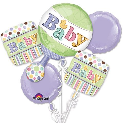 Tiny Bundle Bouquet Of Balloons front-855251