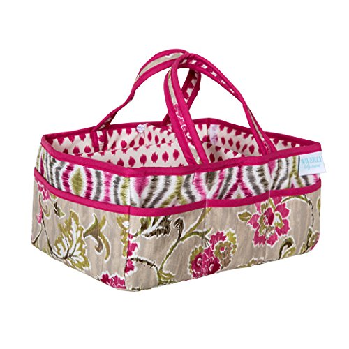 Trend Lab Waverly Jazzberry Diaper Caddy