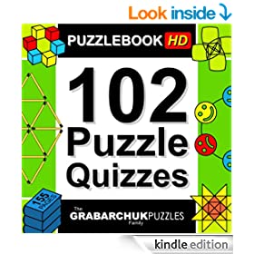 102 Puzzle Quizzes HD (Interactive Puzzlebook for Tablets)
