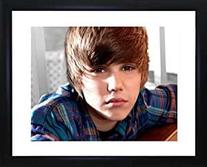 Justin Beiber Framed Photo