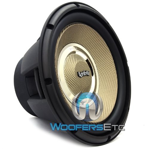 "Kappa 100.9W - Infinity 10"" Selectable Smart Impedance Kappa Series Car Subwoofer"
