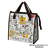 Peanuts Snoopy Design Reusable Bento Box Lunch Bag with Thermal Linning