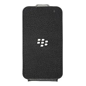 BlackBerry ACC-54689-201 Q5 Leder Flip Shell Case schwarz