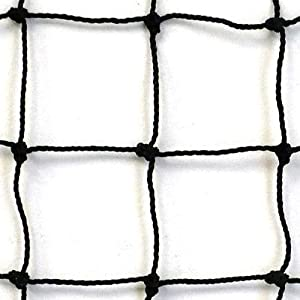 #18 Twisted Knotted Nylon Backstop, 10' x 15'