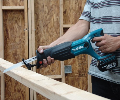 Bare-Tool Makita BJR182Z 18-Volt LXT Lithium-Ion Cordless Reciprocating Saw (Tool Only, No Battery)