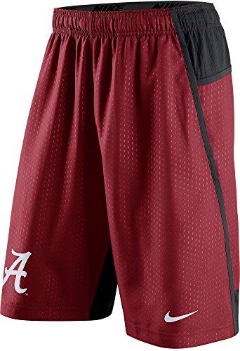 Nike Alabama Crimson Tide Men's Fly XL 3.0 Dri-FIT Training Shorts (Medium, Varsity Crimson Red)