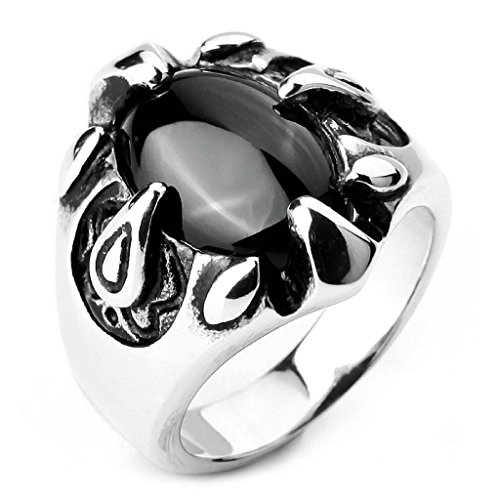epinkifashion-jewelry-mens-stainless-steel-rings-agate-silver-black-eagle-claw-oval-biker-size-n-1-2
