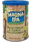 マウナロア  マウイオニオン&ガーリック マカデミアナッツ 缶 127g