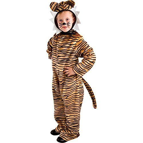 Kid's Animal Tiger Costume (Size:X-small 4-6)
