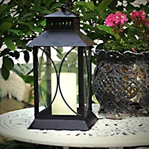 Lantern W/ Flameless Candle-Oil Rubbed Bronze (4 Pieces) [Kitchen]