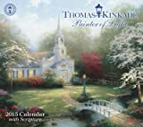 (12x14) Thomas Kinkade Painter of Light with Scripture - 2015 Deluxe Calendar