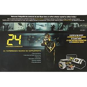 24 heures chrono - L'intégrale des 8 saisons + Redemption [Coffret Bombe]
