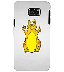 SAMSUNG GALAXY NOTE 5 CAT Back Cover by PRINTSWAG