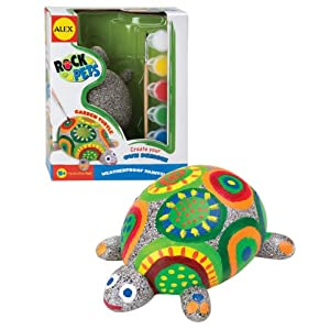 Alex Toys Paint A Rockpet Turtle