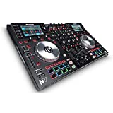 Numark NV DJ Controller for Serato with Intelligent Dual-Display Screens and Touch-Capacitive Knobs