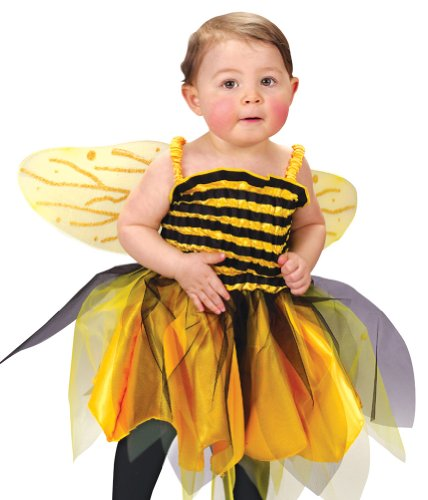 Fun World Infant Baby Girls Honey Bee Bumblebee Halloween Costume