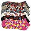 Luxury Divas Colorful Swirl Printed Ladies 6 Pack Assorted