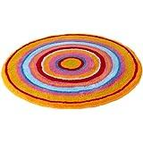 Meusch 2253148521 Badteppich Mandala, 100 cm rund, multicolor