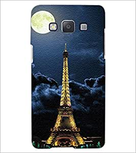 PrintDhaba Tower D-3849 Back Case Cover for SAMSUNG GALAXY A5 (Multi-Coloured)