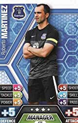 Match Attax 2013/2014 Roberto Martinez Everton 13/14 Manager