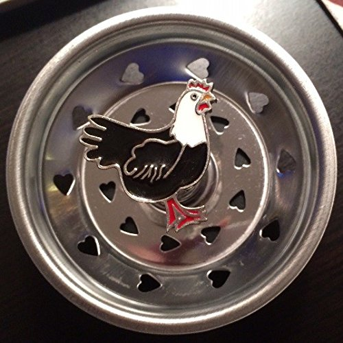 Linda Lou Decorative Sink Strainer - Rooster