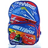 "Disney Pixar Cars 15"" Backpack With Lunch Bag"