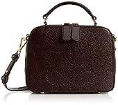 Orla Kiely Textured Leather Mini Shoulder Bag