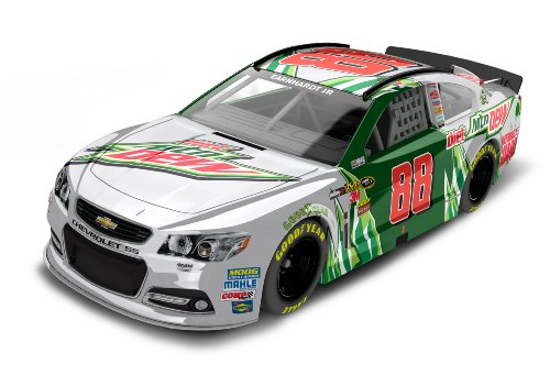Dale Earnhardt Jr Diet Mountain Dew 2013 Chevy SS NASCAR Diecast Car, 1:64 Scale HT