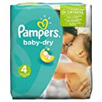 Pampers Windeln Baby Dry Gr. 4 Maxi 7...