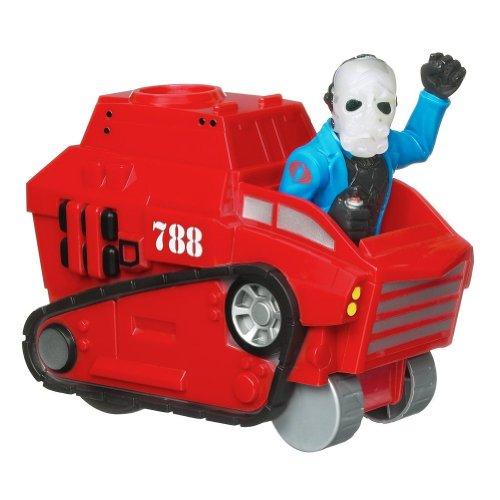 G.I. Joe Rapid Rollers Cobra H.I.S.S. Tank in Red - 1