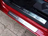 Scuff plate Door sill Guards For VW GOLF 6 MK6 GTi 09 10 11 2012 5Door HB 8pcs