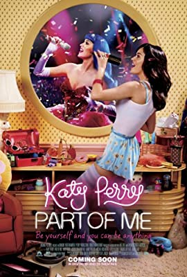 KATY PERRY PART OF ME MOVIE POSTER 2 Sided ORIGINAL INTL 27x40
