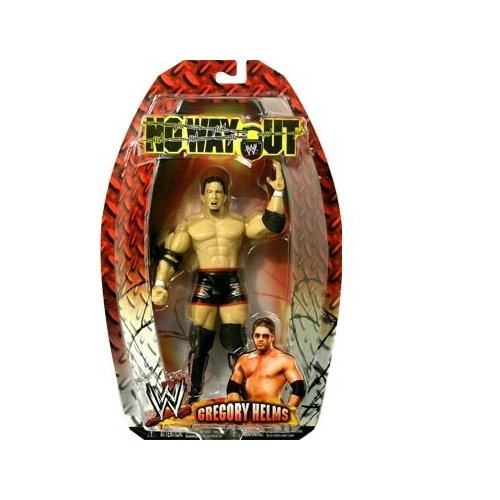 WWE No Way Out Gregory Helms Action Figure - 1