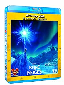 La Reine des neiges [Combo Blu-ray 3D + Blu-ray 2D]
