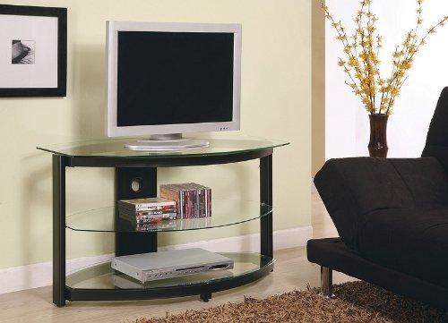 Cheap Modern Design Black LCD / Plasma Media Storage TV Stand (VF_AZ00-28269×29476)