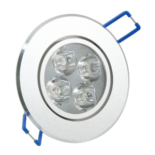 Green House® Dimmable Warm White 12W(4*3W) Led Ceiling Downlight , Indoor/Outdoor Led Ceiling Spotlight With Ce&Rohs 3 Years Warranty Ac100-245V