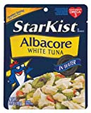 StarKist Albacore White Tuna In Water Pouch 6.4 oz (Pack of 12)