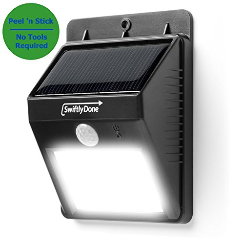 Swiftly Done™ Bright Outdoor LED Light Solar
