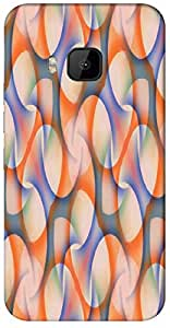 Timpax protective Armor Hard Bumper Back Case Cover. Multicolor printed on 3 Dimensional case with latest & finest graphic design art. Compatible with only HTC - M9. Design No :TDZ-21151