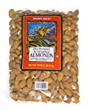 Trader Joes Dry Roasted and Unsalted Almonds - 1lb (2 - Pack)