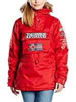 Geographical Norway Chaqueta Building (Rojo)