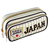 MIZUNO(ミズノ) 侍ジャパン ペンケース 1GJYA02001 白