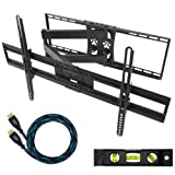Cheetah Mounts APSAMB 32-65 LCD TV Wall Mount Bracket with Full Motion Swing Out Tilt... by Cheetah