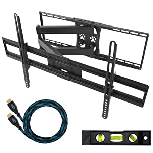 The Best  Cheetah Mounts APSAMB 32-65″ LCD TV Wall Mount Bracket