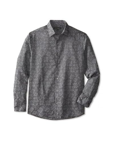 Robert Barakett Men's Melville Long Sleeve Woven Shirt