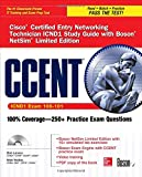 img - for CCENT Cisco Certified Entry Networking Technician ICND1 Study Guide (Exam 100-101) with Boson NetSim Limited Edition (Certification Press) book / textbook / text book
