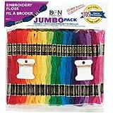 Janlynn Jumbo Pack 105 Skein Embroidery Floss